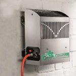 Frosty 2,5 kW – kaasulämmitin – varustettu termostaatilla