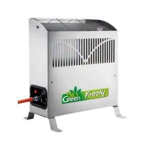 Frosty 4,5 kW – kaasulämmitin – varustettu termostaatilla